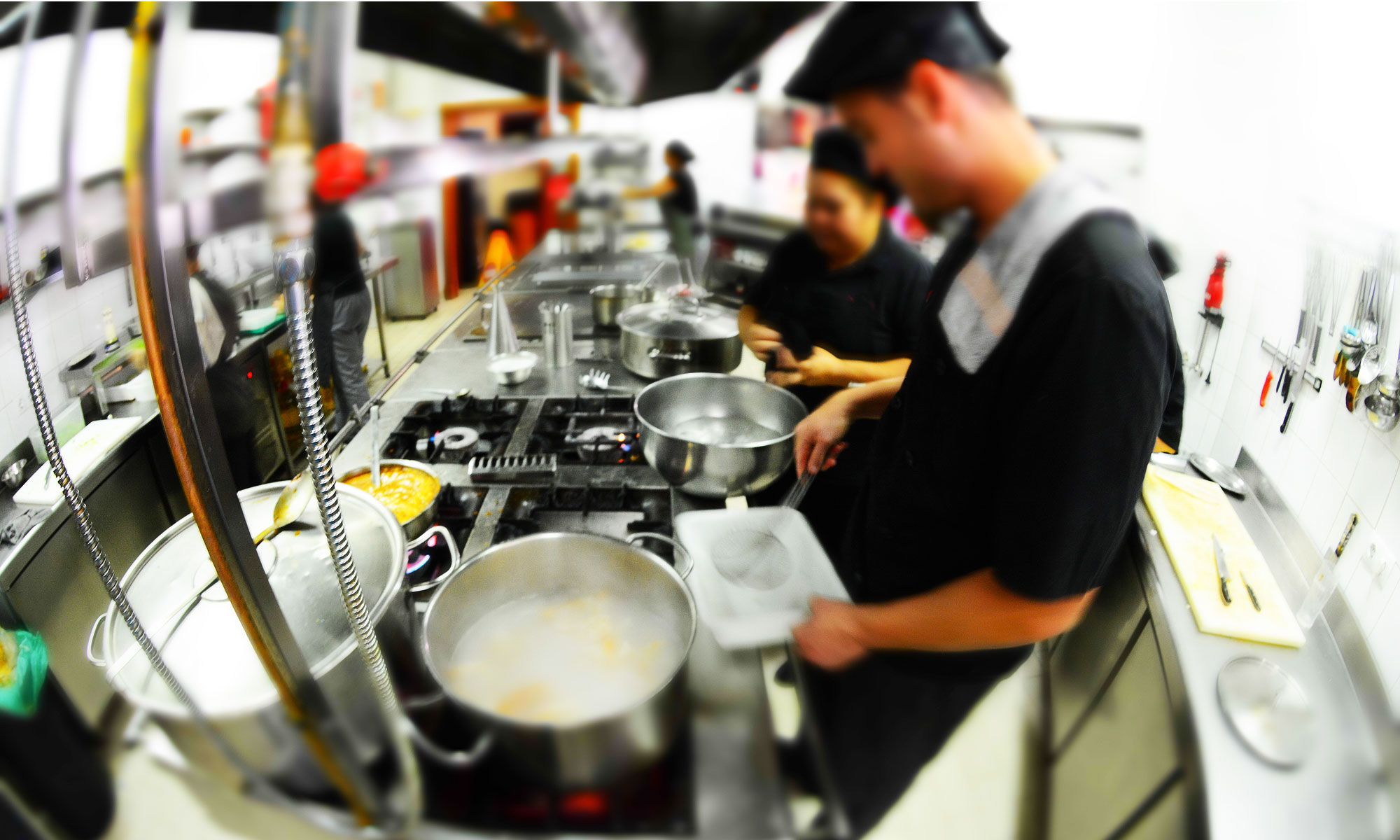 The Kitchen team at work